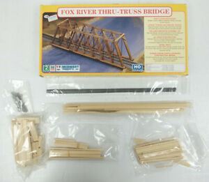 """Midwest Products 3054 HO 11-7/8"""" x 2-5/32"""" x 3-1/2"""" Fox River Through-Truss Kit"""