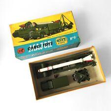 CORGI TOYS MAJOR  Gift set 9, Corporal Guides Missile Erector, boîte d'origine