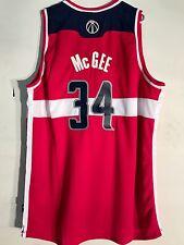 Adidas Swingman NBA Jersey Wizards McGee Red sz 2X