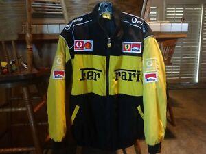 Vintage 1990's FERRARI Marlboro Racing Jacket Men's (L) Michael Schumacher EUC