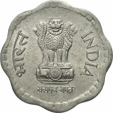 [#580947] Coin, INDIA-REPUBLIC, 10 Paise, 1986, EF(40-45), Stainless Steel