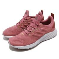 adidas AlphaBOUNCE CR W Trace Noble Maroon Gold Women Running Shoes B76041