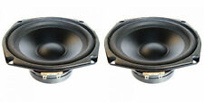 """NEW (2) 5.25"""" Woofer Speakers.5-1/4"""" 8 ohm.Midrange.five inch pin cushion frame."""
