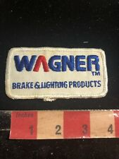 Vtg WAGNER BRAKE & LIGHTING PRODUCTS Embroidered Cloth Company Patch 02RK
