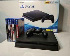 Playstation 4 Slim 500GB + Controller und Spiele