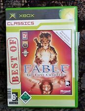 XBOX Spiel XBox Fable - The Lost Chapters + Anleitung (Cover ist leicht defekt)