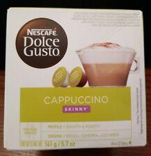 Nescafe Dolce Gusto Cappuccino Skinny (3 Boxes)  8 Per Box 09/2021 NEW