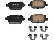For 2008-2012 Land Rover LR2 Disc Brake Pad and Hardware Kit Power Stop 55297TC