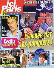 Ici Paris 3279 - 06/05/2008 Ophélie Winter Nouvelle Star Courbet Pitt