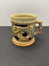 Vintage Mug MUSTACHE Stein Cup made JAPAN Mug