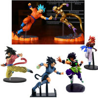 Dragon Ball Z Super Saiyan 4 Goku Gogeta Super Broli Frieza Figure FES vol.6 Toy