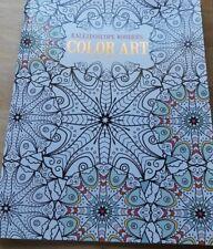LEISURE ARTS Kaleidoscope Wonders Color Art Adult Coloring Book HF719 COMB SHIP