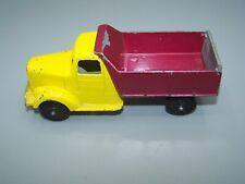 """Rare Tootsietoy Tutsitoys 6 """" 1947 Mack Dump Truck Made In MEXICO Odd Colors"""