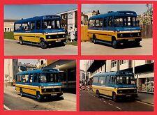 4 Photos ~ Hastings & District - Mercedes L608D Minibuses C799SDY etc - 1986-90