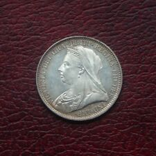 More details for victoria 1900 silver maundy fourpence