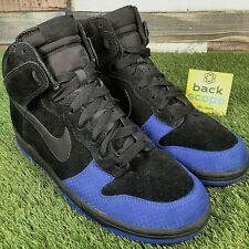 UK9.5 Nike Dunk High 2008 Hi Top Trainers - Rare VTG Retro SB - Near Deadstock