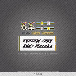 01144 Eddy Merckx Bicycle Stickers - Decals - Transfers