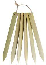 ESSCHERT DESIGN Pflanz Schilder klein Set 6 Stäbchen Blumen Holz Stecker Etikett