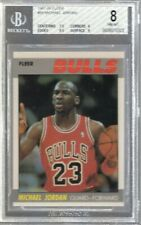 1987/88 Fleer Michael Jordan #59 BGS 8