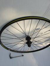 BOARDMAN 700c REAR DISC BRAKE Hybrid Bike Wheel D/ WALL - BLACK 8-9-10 SPEED