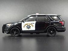 2017 FORD POLICE INTERCEPTOR UTILITY CHP RARE 1:64 COLLECTIBLE DIECAST MODEL CAR