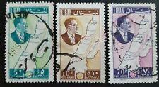 LIBAN / LIBANON 1961  MI.NR. 704-706