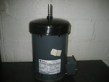 NEW 1 HP GE condensor motor number HC51TE460 460 volts 1075 rpm 1 phase Carrier
