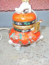 25892 Rauchverzehrer Porzellan AEROZON China Vase Hund Chinesen 22cm