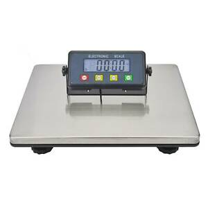 LCD Heavy Duty Max 200KG Industrial Platform Postal Shipping Weighing Scales NEW