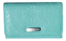 "NEW + TAG BILLABONG ""MADDISON"" LADIES / GIRLS TRI-FOLD WALLET / PURSE AQUA"