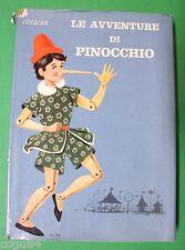 Collodi - Le Avventure Di Pinocchio - Prima Edizione BRI 1965 - illustrato