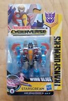 NEW! Transformers Cyberverse STARSCREAM Scout Action Figure