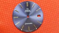 Vintage Omega Seamaster Blue Color Dial Men's Watch 1010-1012-1030 B