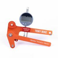 Bike Spoke Tension LED Screen Meter (Bicycle Wheel Builders Tool) / value chart