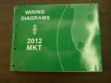 OEM Ford 2012 Lincoln MKT Shop Manual Wiring Diagram Book nos