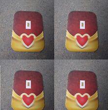 4X Valentine Love 1/15th Gr PURE 999 FINE GOLD BULLION MINTED BAR »(¯`v´¯)»