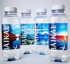 4х450ml Bottled mineral water from the depths of lake Baikal Russia without gas