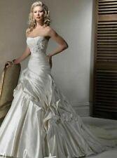Maggie Sottero Size 8 Wedding Dress Saratoga Brand New inc Veil and Underskirt