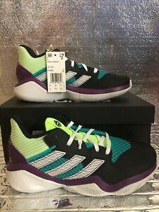 Adidas Harden Stepback J Men's Basketball Shoes Green/Ftwr/White FV7435 Size 6.5
