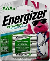 BRAND NEW ENERGIZER AAA Rechargeable NiMH Batteries 4-Pack 800 mAh