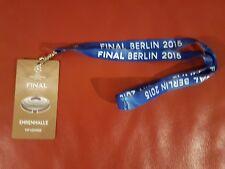 2015 CHAMPIONS LEAGUE FINALE CORDINO VIP e passare BARCELLONA V JUVENTUS