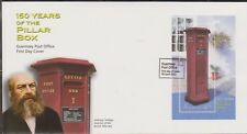 GB - GUERNSEY 2002 Pillar Box 150th Anniversary £1.75 Mini-Sheet SG MS954 FDC