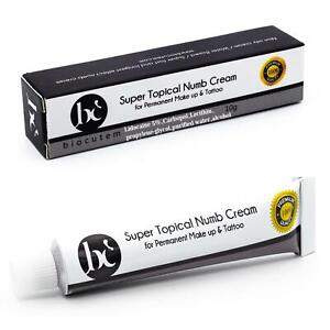 2xSuper Topical Numb Cream for Tattoo Permanent Makeup Waxing-USA Authentic