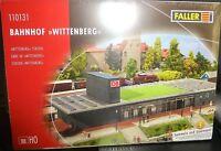 Gare Wittenberg Kit de Montage 465x195x110 mm faller 110131 H0 1:87 Ovp U' E Μ