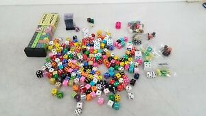 Assorted Dice Lot D6s Six Sided