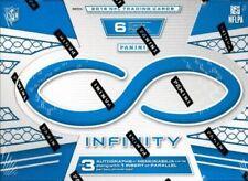 2016 Panini Infinity Football - PARALLEL - MEMORABILIA Numbered - Pick Your Card