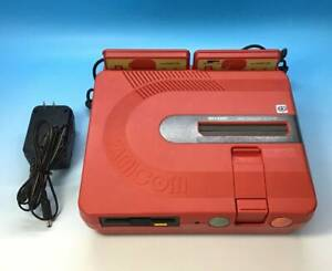 TWIN FAMICOM Console System AN-500R Red