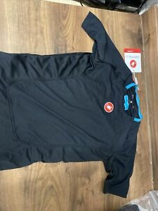 Castelli Procecco Undervest Base Layer Short Sleeve  Cycling Small new