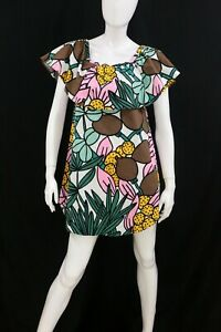 cherrie424: Max&Co. Fruit Print Ruffled Off Shoulder Dress