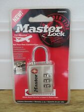 NIP NEW MASTER LOCK 4680DNKL Luggage Briefcase Set Your Own Combination TSA